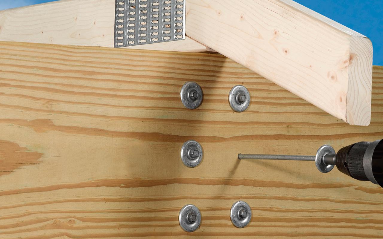 rafter-installation