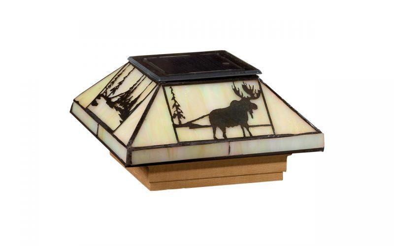 Deckorators®Filigreed Northwoods Solar Glass