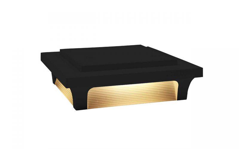 Deckorators® Luna 4 Post Cap Black