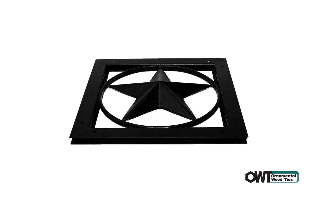 Ornamental Gate Accent - Star