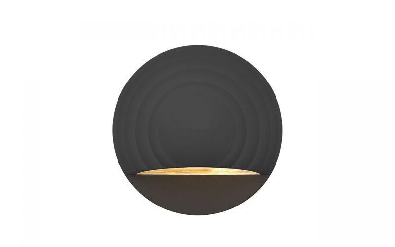 Deckorators®Round Deck Sconce Black
