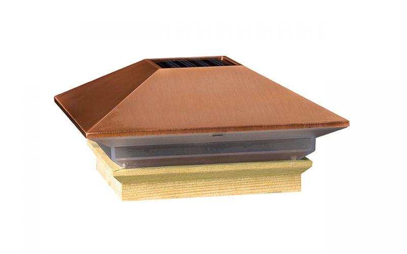 Deckorators®Solar Copper High Point