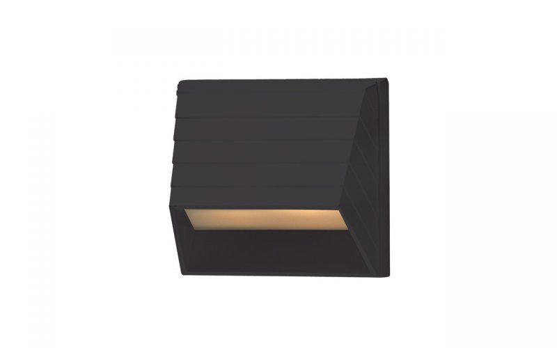Deckorators®Square Deck Sconce Black