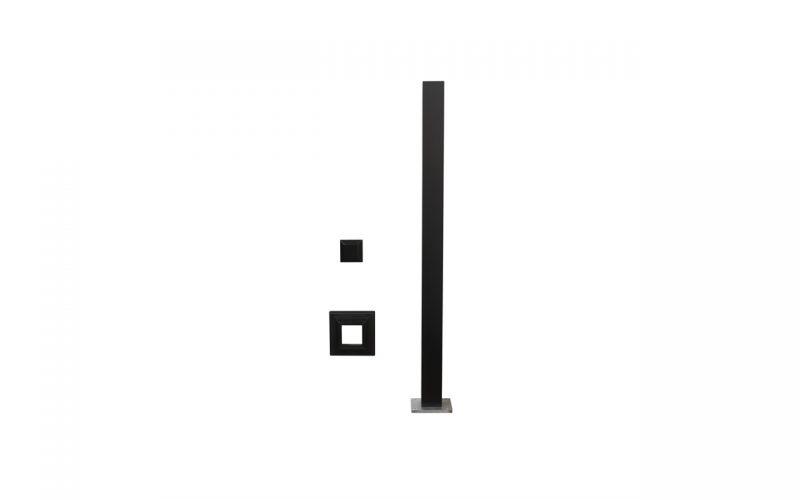 "Deckorators®ALX 2.5"" Post Kit"