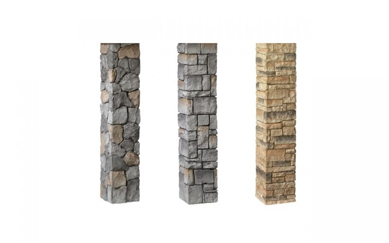 Deckorators® Stacked Stone Postcovers