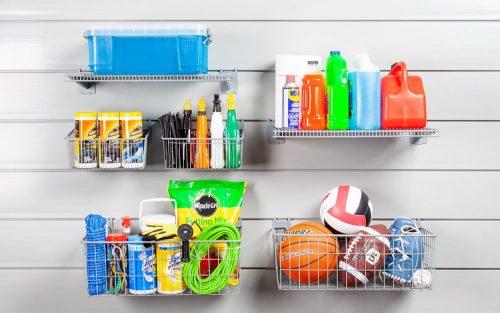 6 Piece Shelf and Basket Kit