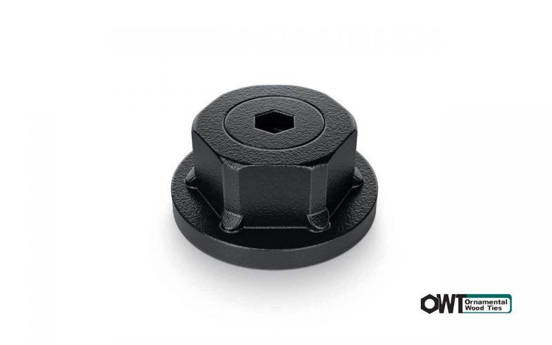 ozco- 1″ Hex Cap Nut (10PK)