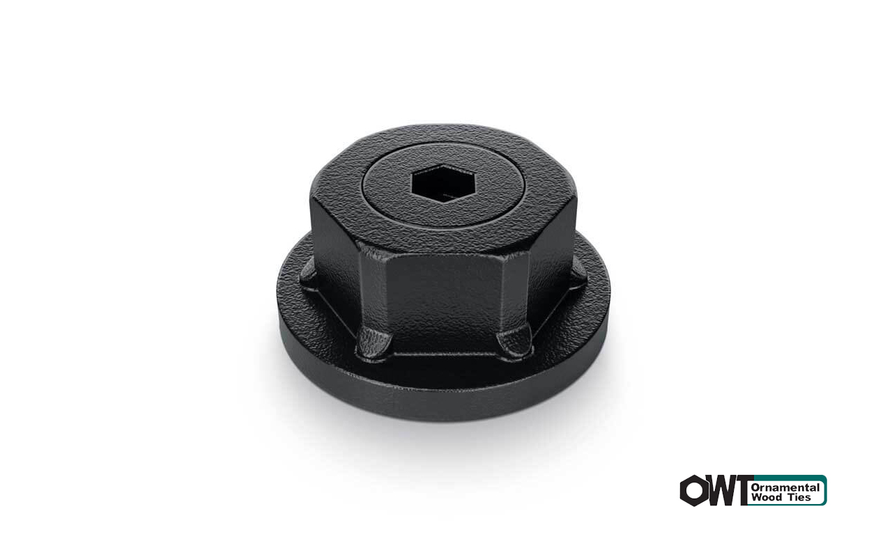 ozco-1-1:2″ Hex Cap Nut