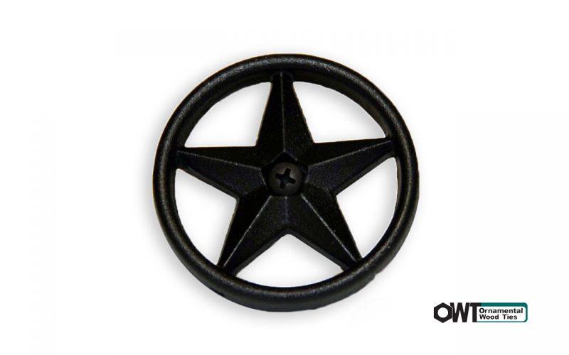ozco-2-3:8″ Decorative Metal Star (10PK)