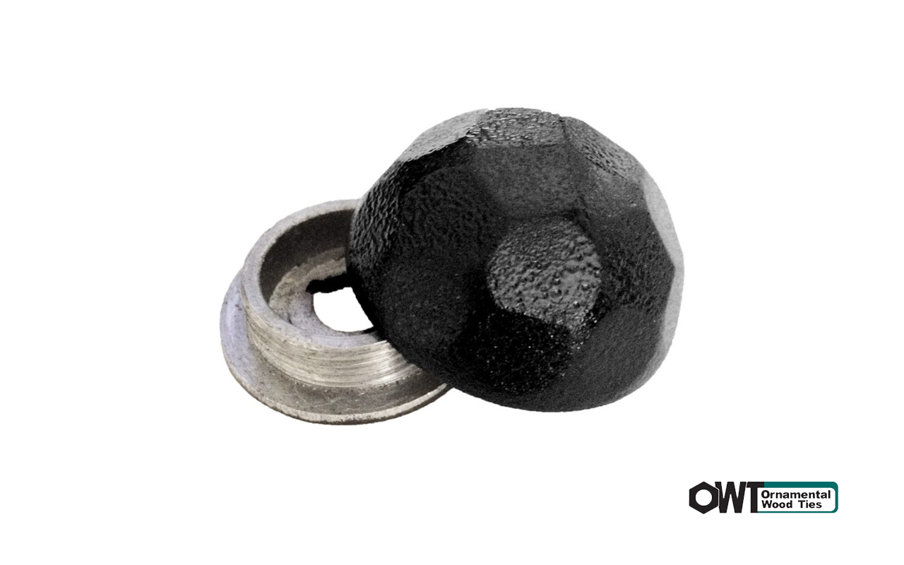 ozco-Hammered Dome Cap Nut
