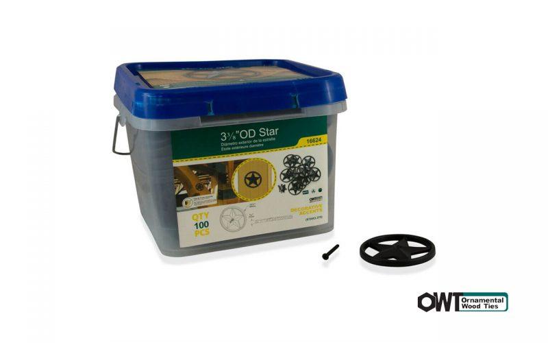 ozco-Star 3-3:8″ OD (100PK)